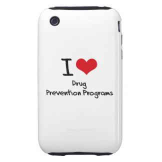 Amo programas de la prevención del consumo de drog iPhone 3 tough carcasa