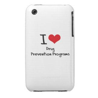 Amo programas de la prevención del consumo de drog Case-Mate iPhone 3 coberturas