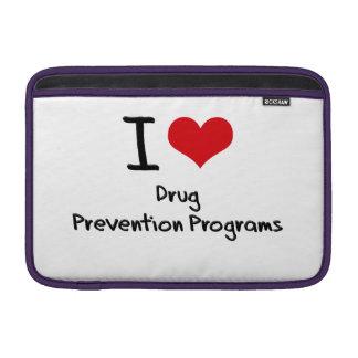 Amo programas de la prevención del consumo de drog funda macbook air
