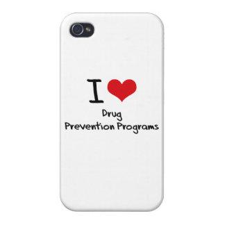 Amo programas de la prevención del consumo de drog iPhone 4/4S carcasas