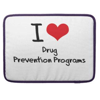 Amo programas de la prevención del consumo de drog funda macbook pro