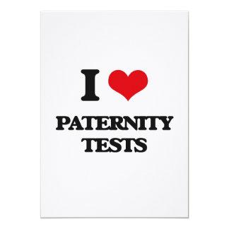 Amo pruebas de paternidad anuncio personalizado
