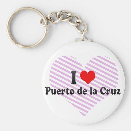 Amo Puerto de la Cruz, España Llavero Personalizado