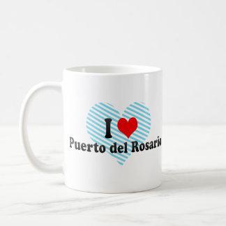 Amo Puerto del Rosario, España Taza Clásica