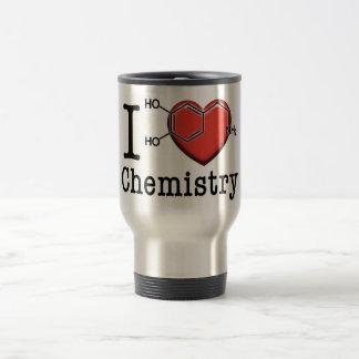 Amo química taza de viaje