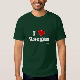 Amo Raegan Camisetas