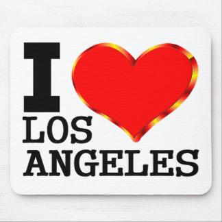 Amo realmente Los Ángeles Alfombrilla De Ratón