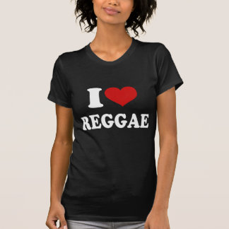 Amo reggae camiseta