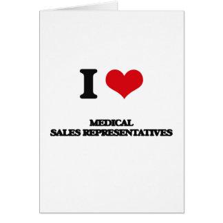 Amo representantes de ventas médicos felicitaciones