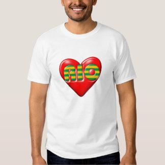 Amo Río de Janeiro Camisas