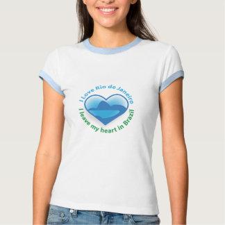 Amo Río de Janeiro - dejo mi corazón en el Brasil Camisas