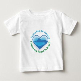 Amo Río de Janeiro - dejo mi corazón en el Brasil Camiseta