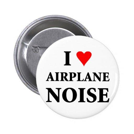 Amo ruido del aeroplano pins