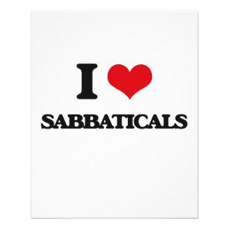 Amo sabáticos flyer personalizado