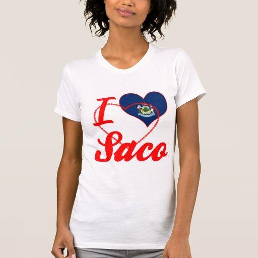 Amo Saco, Maine Camisetas