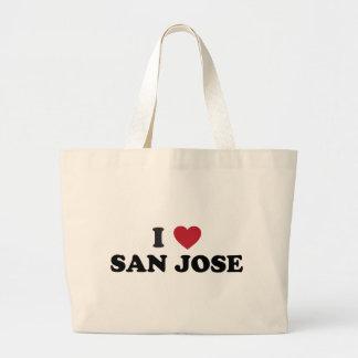 Amo San Jose Bolsa Tela Grande