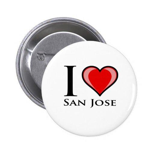 Amo San Jose Pins