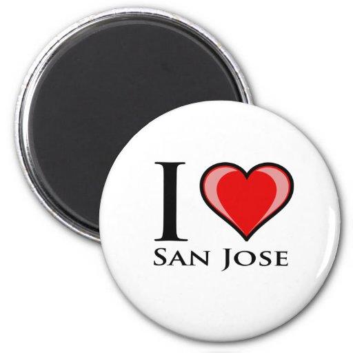 Amo San Jose Imanes De Nevera