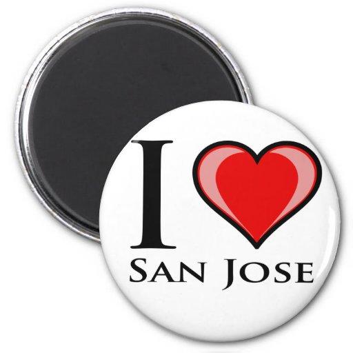 Amo San Jose Imán Para Frigorifico