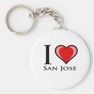 Amo San Jose Llaveros