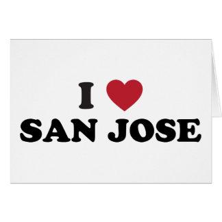 Amo San Jose Tarjeta De Felicitación
