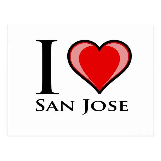 Amo San Jose Postales