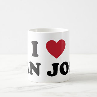 Amo San Jose Tazas De Café
