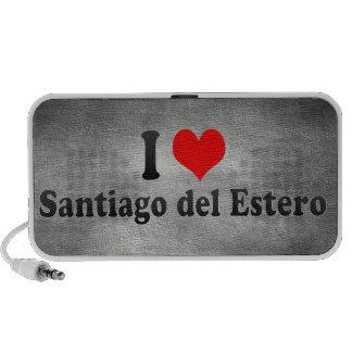 Amo Santiago del Estero la Argentina Laptop Altavoz