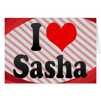 Amo Sasha Tarjetón