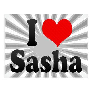 Amo Sasha Tarjeta Postal
