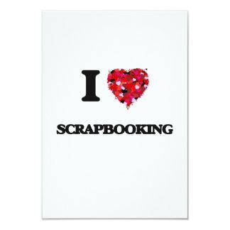 Amo Scrapbooking Invitación 8,9 X 12,7 Cm