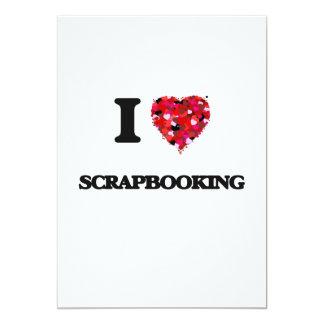 Amo Scrapbooking Invitación 12,7 X 17,8 Cm