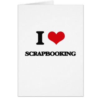Amo Scrapbooking Tarjeta