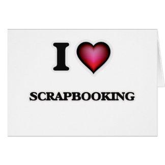 Amo Scrapbooking Tarjeta De Felicitación