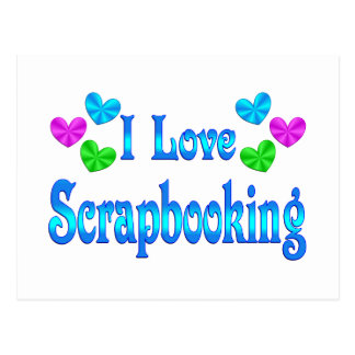 Amo Scrapbooking Tarjeta Postal