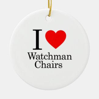 Amo sillas de los vigilantes ornamentos de reyes magos