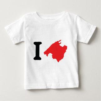 Amo símbolo del contorno de Mallorca Camiseta