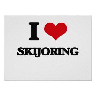 Amo Skijoring Posters