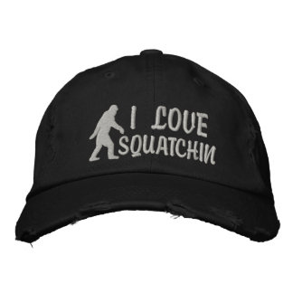 Amo Squatchin Gorra De Béisbol