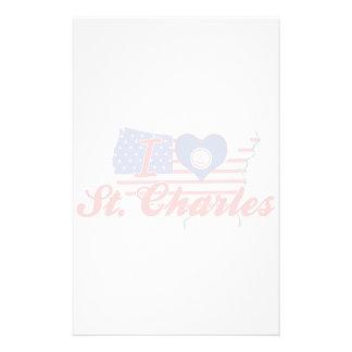 Amo St Charles, Virginia Papelería