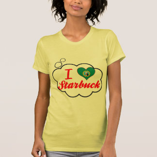 Amo Starbuck, Washington Camisetas