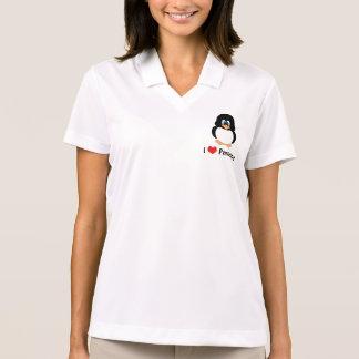 Amo sudadera con capucha de los pingüinos