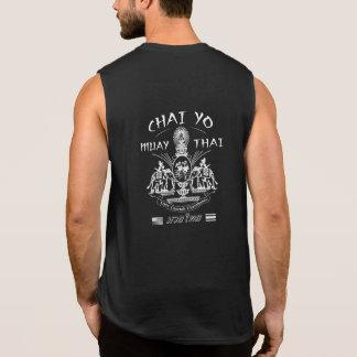 Amo tailandés sin mangas de Chai Yo de la camiseta