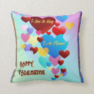 Amo tan Many~valentine Cojines