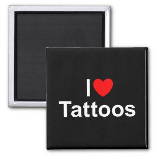 Amo tatuajes (del corazón) iman