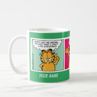 """Amo taza de la historieta de Garfield del"