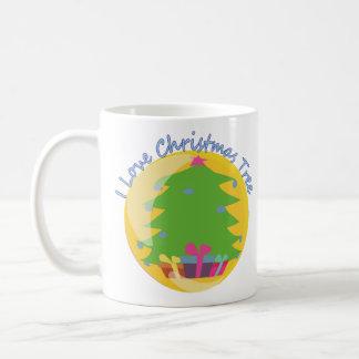 """""""Amo taza del árbol de navidad"""""""