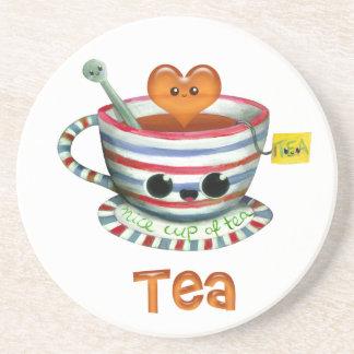 Amo té posavasos manualidades