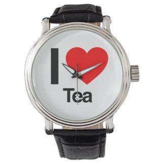 Amo té reloj de pulsera