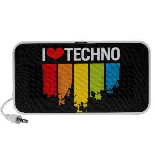 Amo Techno - altavoces